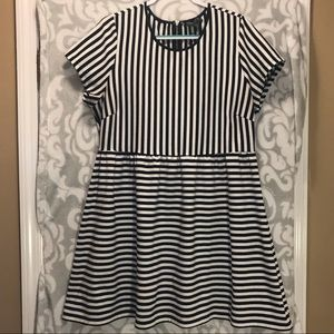 Forever 21 striped skater dress 3X